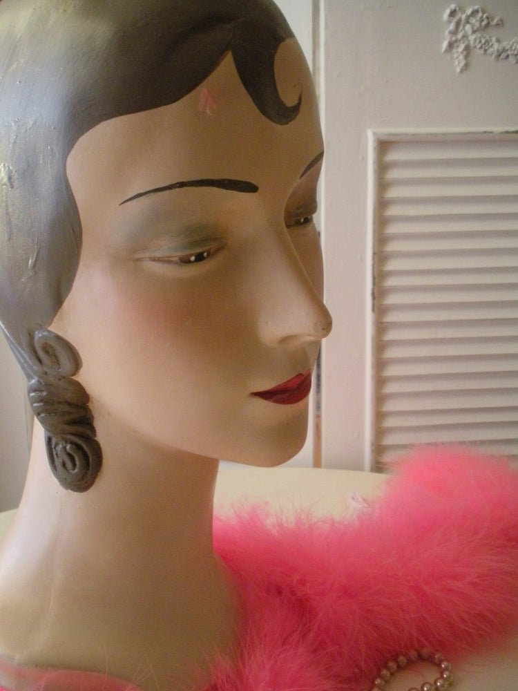 Image of Antique Millinery Mannequin