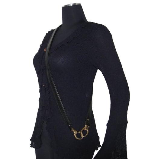 "Image of Crossbody / Messenger Bag Strap - Choose Leather Color - 50"" Length, 1"" Wide, #18 Swivel Hooks"