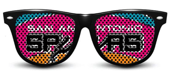 Image of My Custom Specks San Antonio Spurs Specks (Retro)