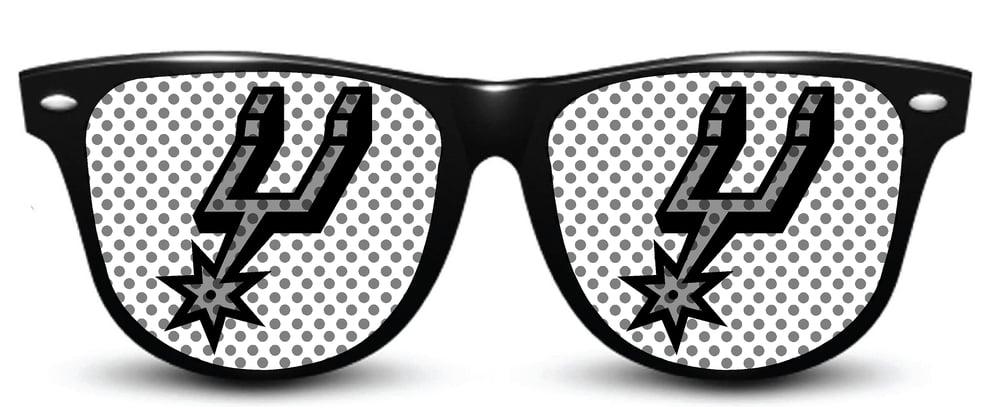 Image of My Custom Specks San Antonio Spurs Specks (Logo)