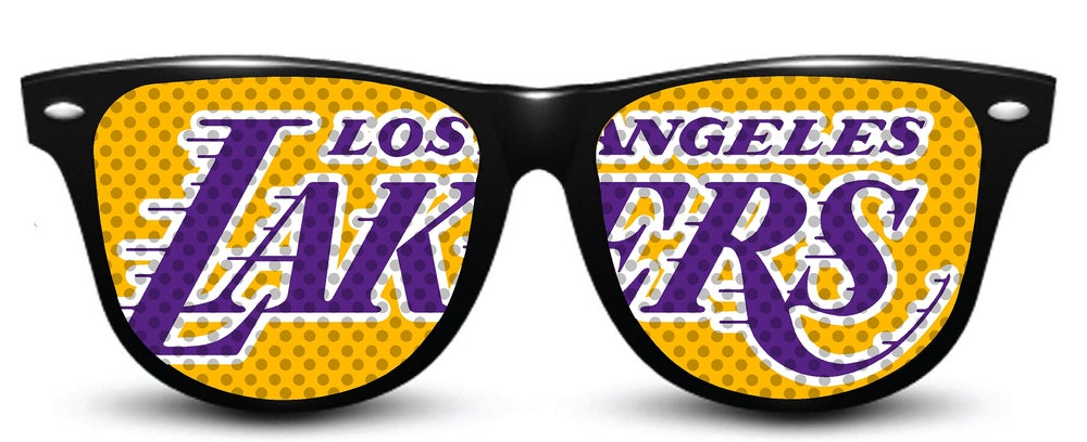 Image of My Custom Specks Los Angeles Lakers Specks
