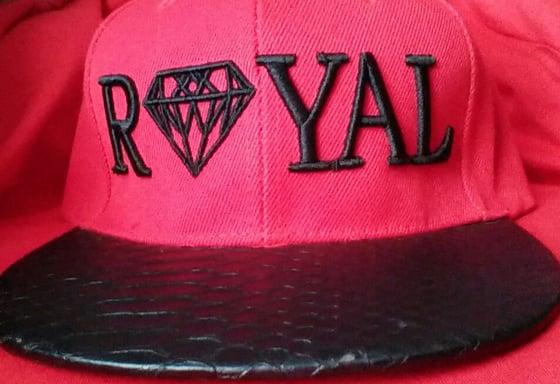 Image of royal strapback