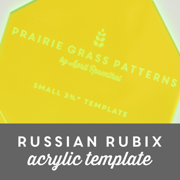 Image of Russian Rubix Acrylic Template
