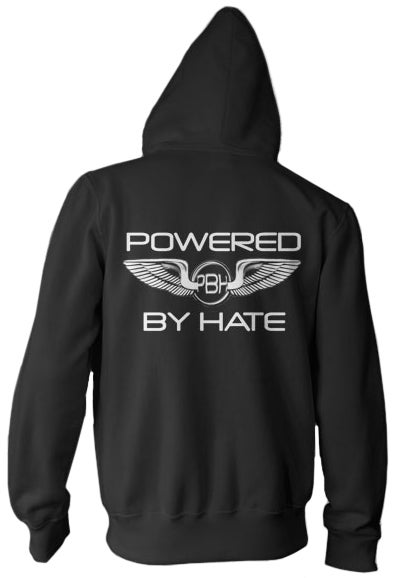 Image of PHB Logo Zip Black Hoodies