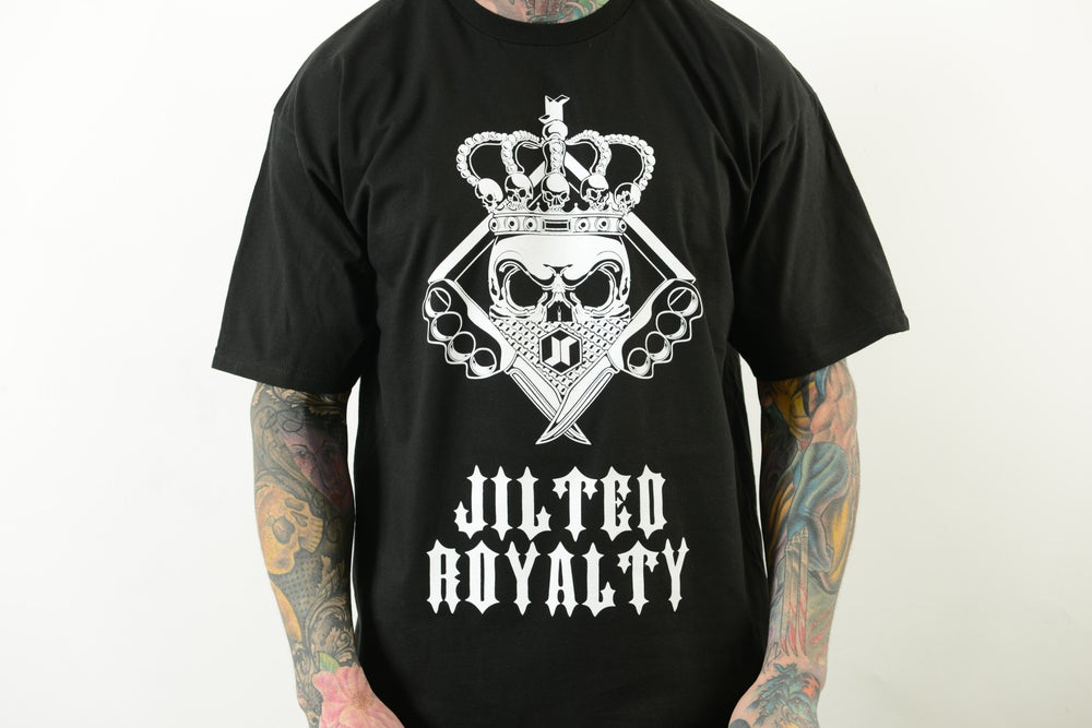 Image of SKULLDAGGERY TEE (BLACK)