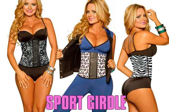 Image of Sport Latex Waist Cincher Body Shaper - #1 Seller!