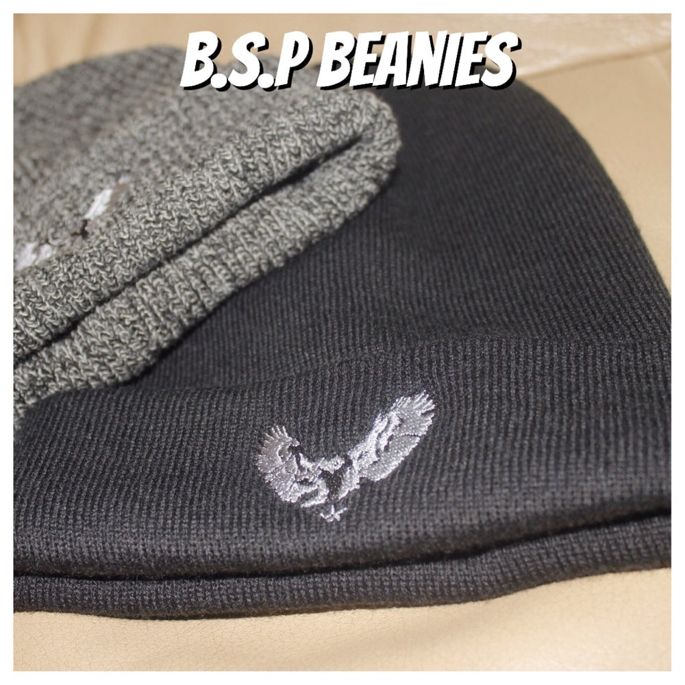 Image of B.S.P Black Beanie