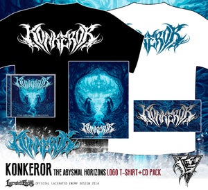 Image of KONKEROR - logo Tshirt CD / DIGIPACK deal