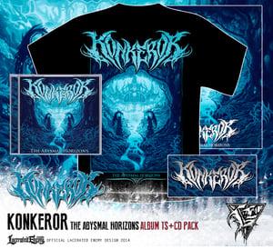 Image of KONKEROR - album Tshirt CD / DIGIPACK deal
