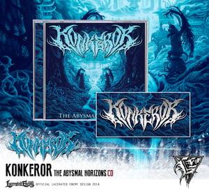 Image of KONKEROR - The Abysmal Horizons CD
