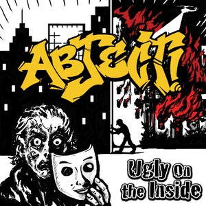"Image of ABJECT! ""Ugly On The Inside"" CD"