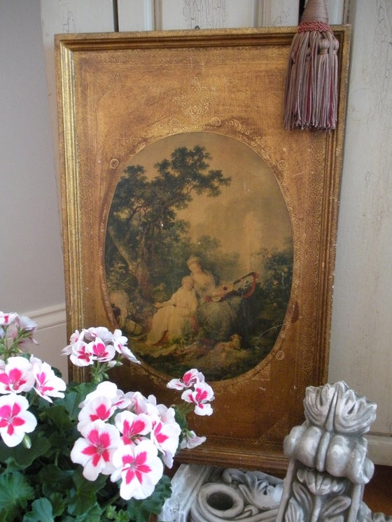 Image of Vintage Florentine Print