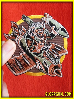 The Glorps Will Getcha WWII Bomber Squadron Patch