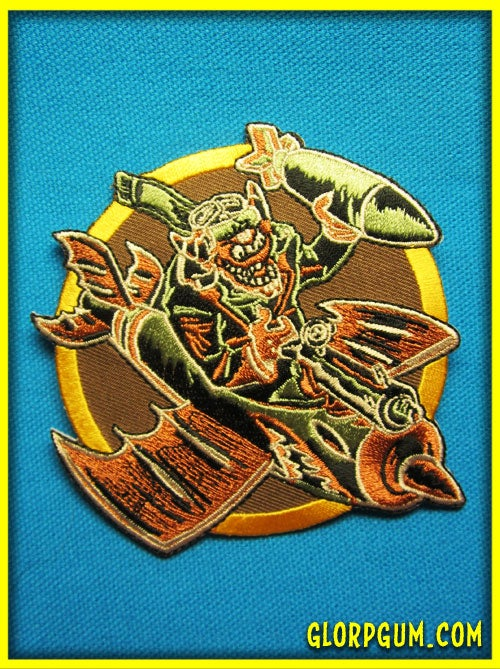 Image of The Glorps Will Getcha WWII Bomber Squadron Patch