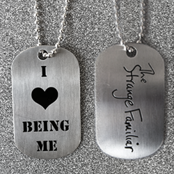 Image of Being Me Dog Tag