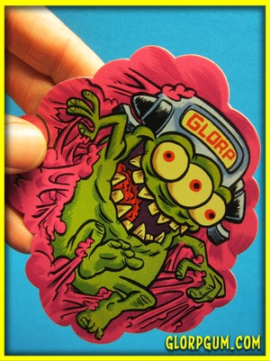 GLORP Die Cut Vinyl Sticker Pack!
