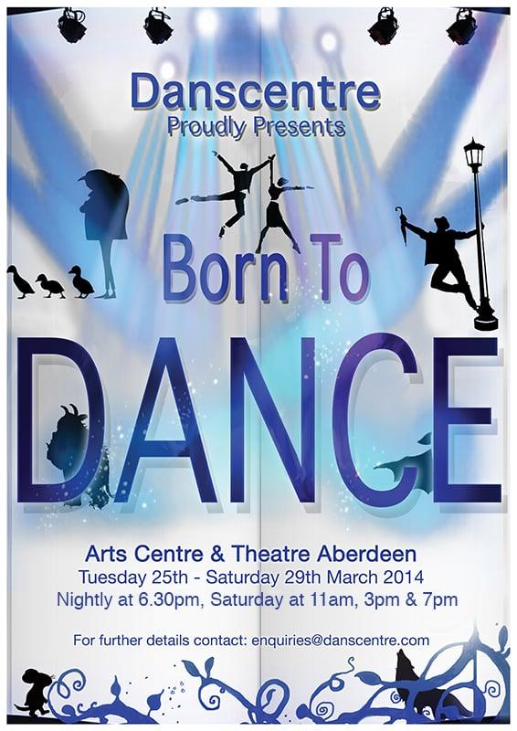 Image of Danscentre - Born to Dance MARCH 2014