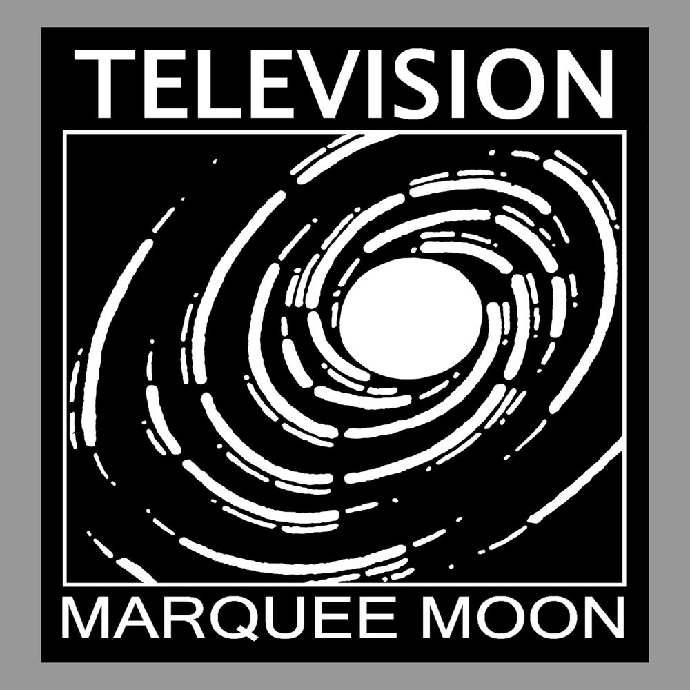 "Image of Television - ""Spiral"" Sticker - Ships Free with other items"