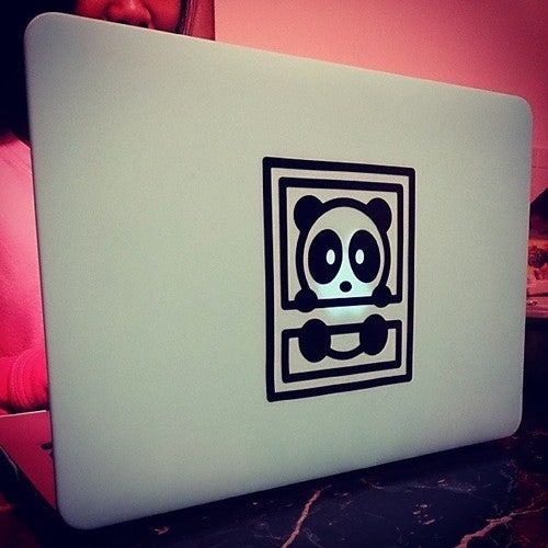 Image of Black Bambu Vinyl Decal