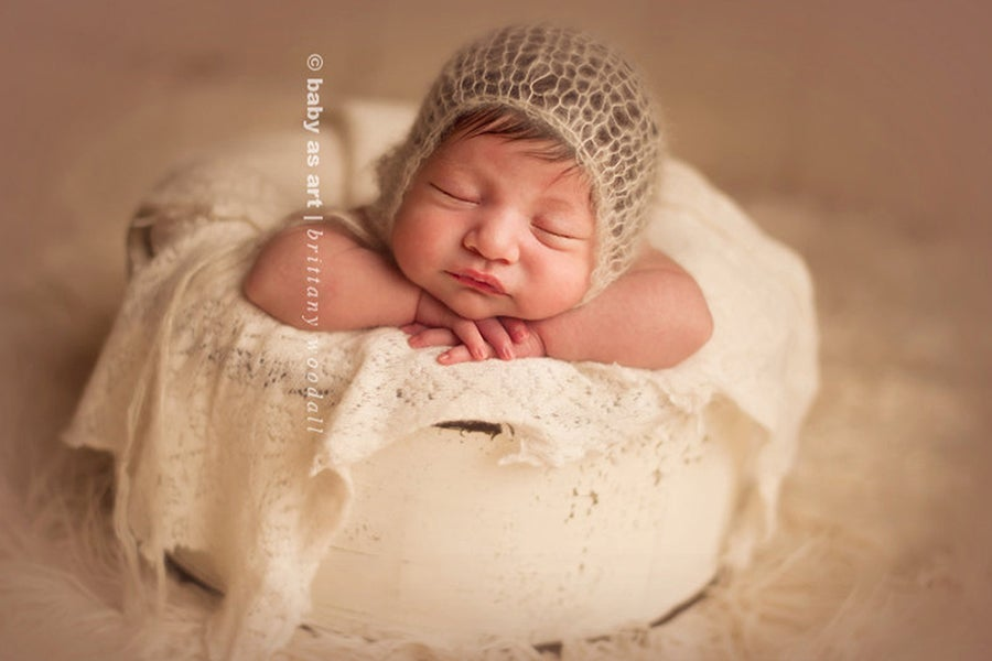Image of {the Essential} Knit Bonnet | Newborn Size