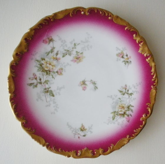 Image of Antique Limoges Plate
