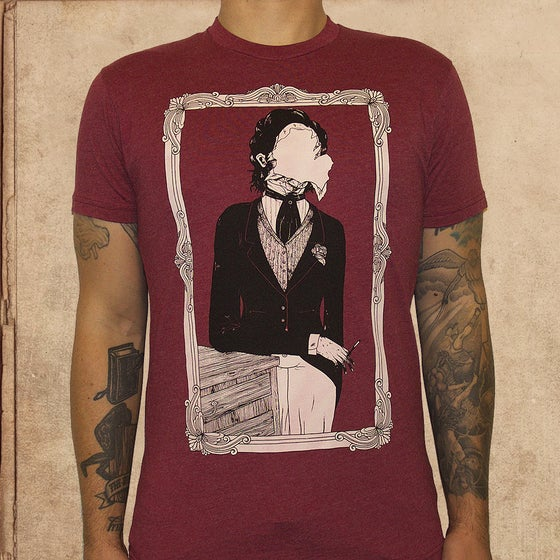 Image of Portrait of Dorian Gray - cardinal red - unisex - 13 made total 1 XL left