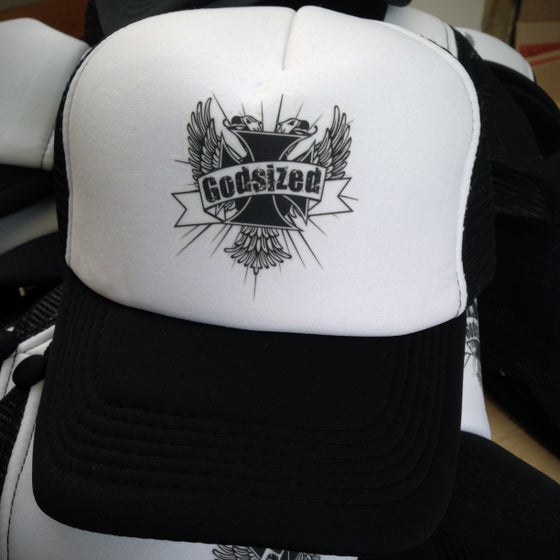 "Image of Godsized ""Eagles"" Logo Trucker Cap"
