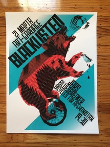 Image of MOSCOW SHOW SILKSCREEN PRINT