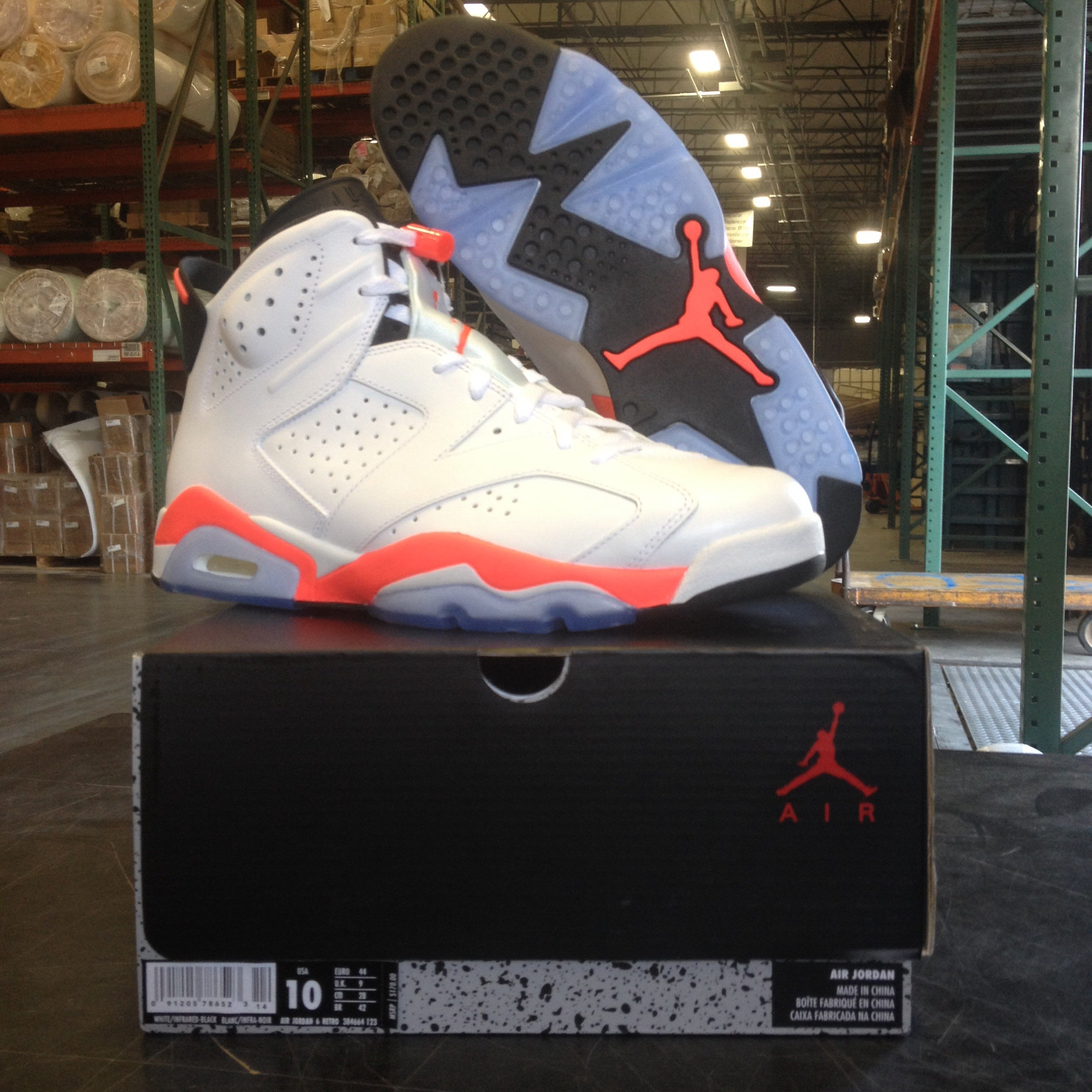 new arrival cc07c 111c0 ... czech image of air jordan 6 white infrared f0461 0dc67