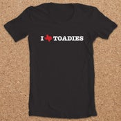 Image of Toadies : I Heart Shirt