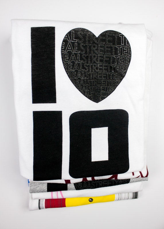 Image of I LUV LOVE- White Tee