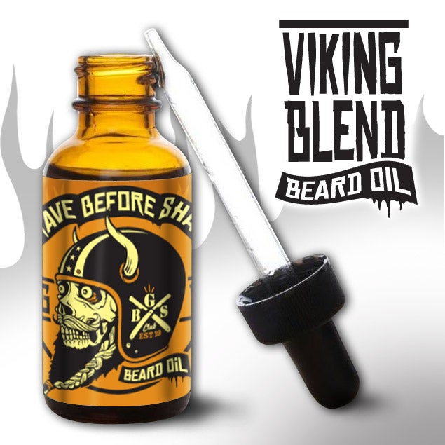 Image of GRAVE BEFORE SHAVE Viking Blend Beard Oil