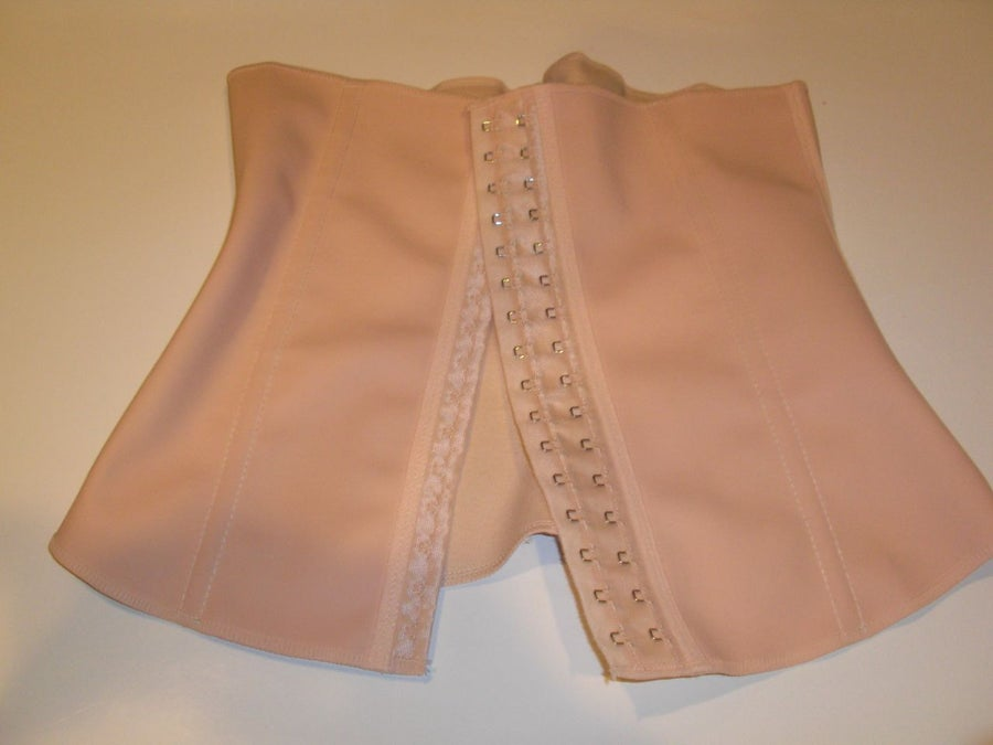 Image of brazilian latex rubber body shaper (nude only)