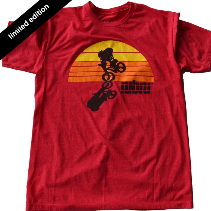 Image of Nubru Sun Tee Red