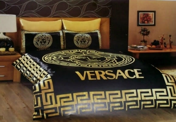 versace bed linen glamgirluniqueboutique 13722 | o versace bedding set satin duvet cover sheet set pillows de22 auto format fit max am