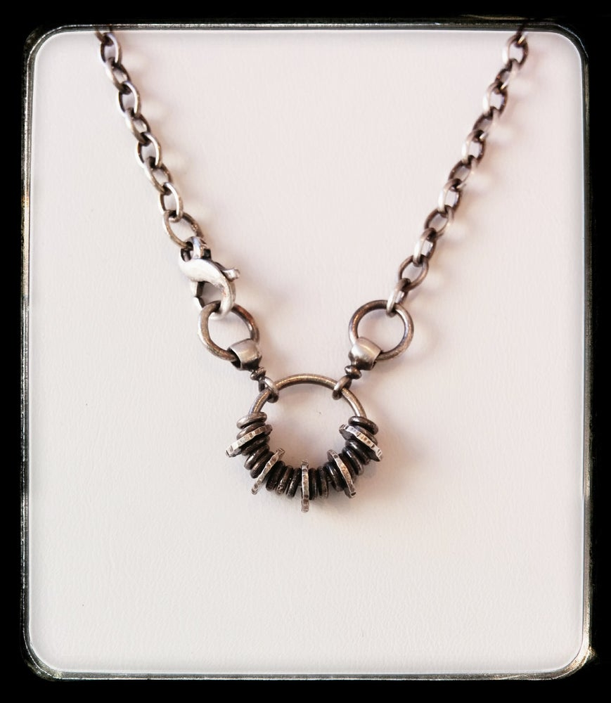 Image of rings necklace