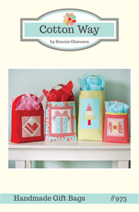 Image of Handmade Gift Bags Paper Pattern #973