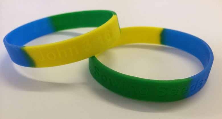 Image of Sowing Seeds Ministries Wristband