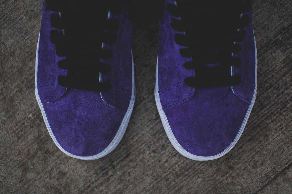 """Image of Nike Blazer Mid SB """"Purple / Snakeskin"""""""