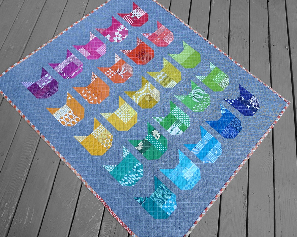 patterns by elizabeth hartman � the cat pdf quilt pattern