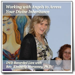 Image of Working with Angels to Access Your Divine Inheritance - DVD