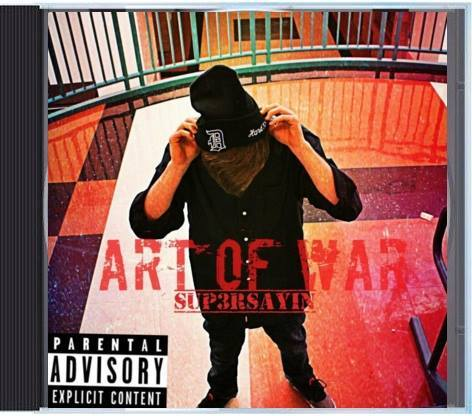 Image of Sup3rsayin - ART OF WAR CD