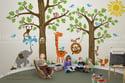 Wondrous Woodland Nursery Playroom Wall Decals