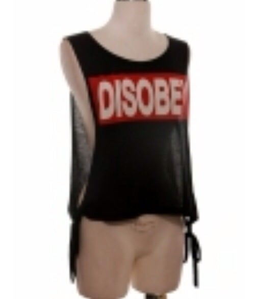 Image of 'Disobey' top
