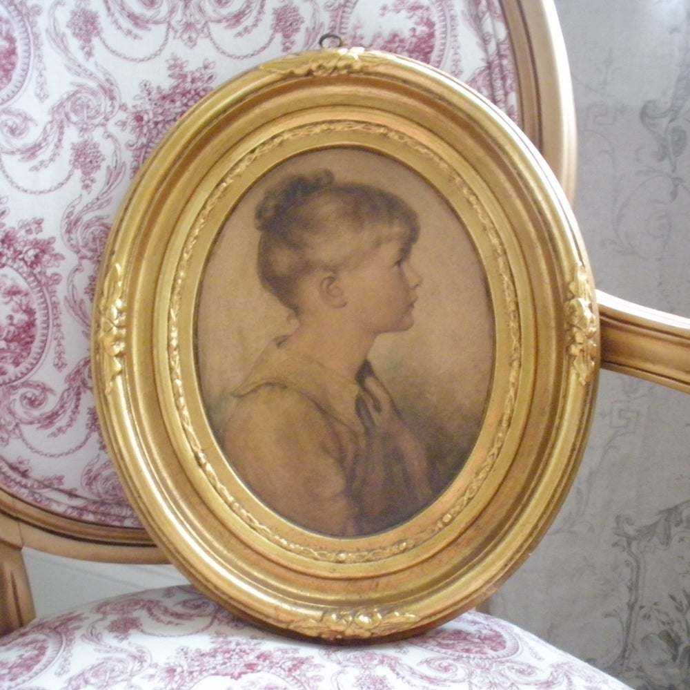 Image of Oval Portrait