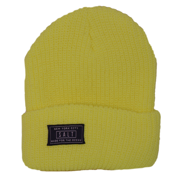 Image of Salt Surf - Neon Yellow Beanie