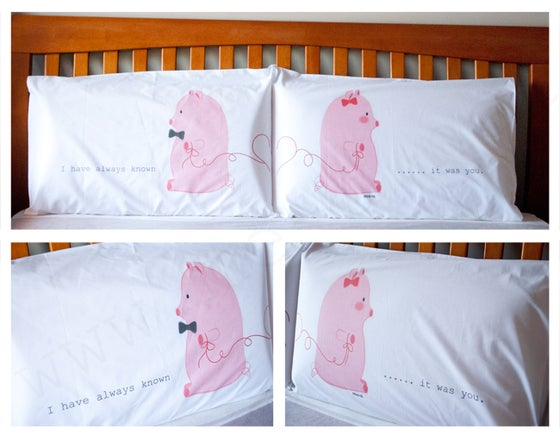 Image of Special Limited Edition - Pillowcase (I have always known it was you)