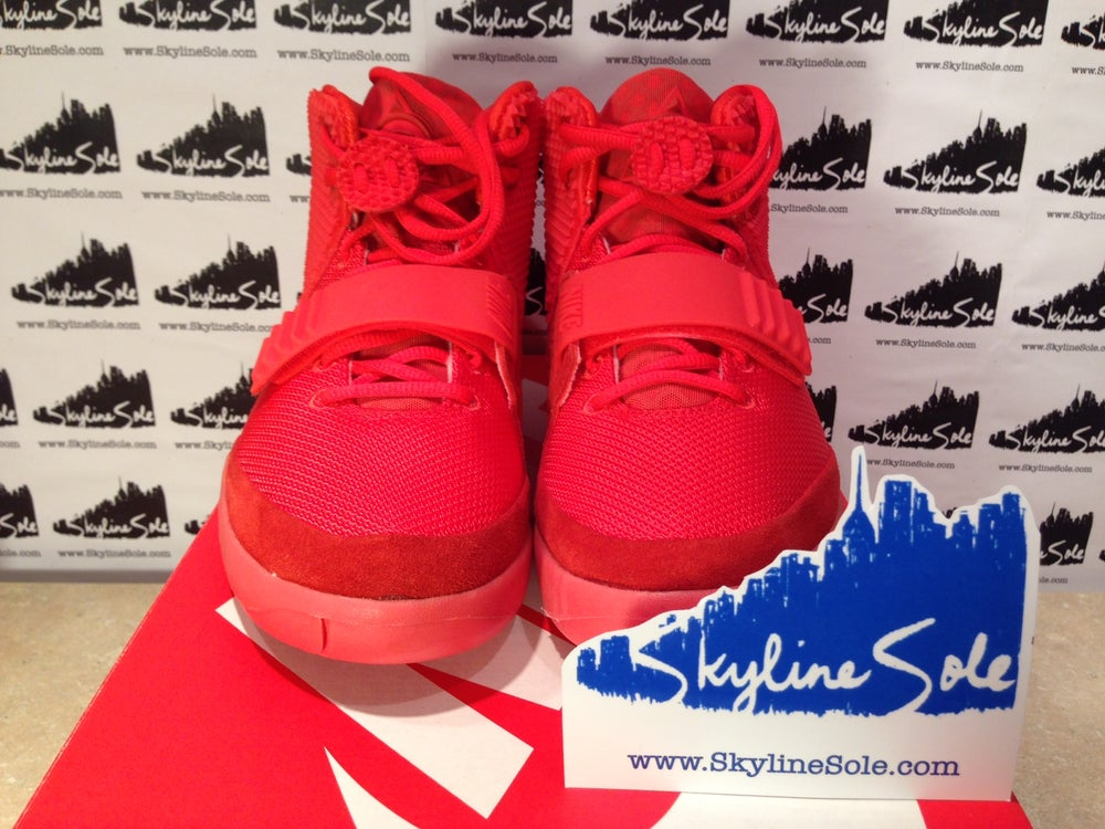 "Image of Nike Air Yeezy 2 SP ""Red Octobers"""
