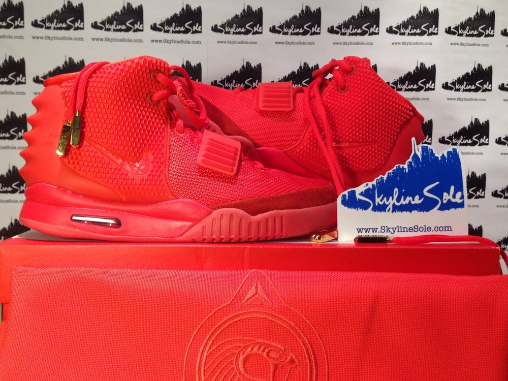 """Image of Nike Air Yeezy 2 SP """"Red Octobers"""""""