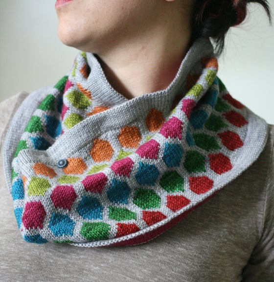 Image of Chromaticity Cowl Kit | Original Rainbow Colorway